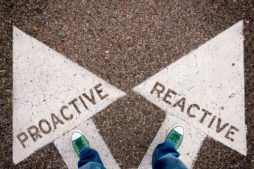 Reactive and proactive approach to consumers